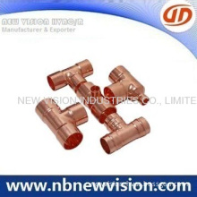 Copper End Feed Fittings - Reducing Tee & Equal Tee
