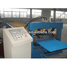 Máquina de formação de rolo de folha de telhado de costura de alta precisão