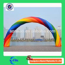 Arc gonflable gonflable gonflable durable à arc-en-ciel durable à vendre
