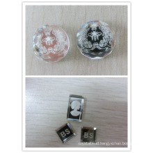 Flat Back Mirror Glass Beads with Some Pictures