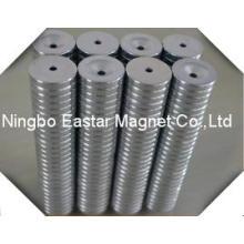 Редкие магнит магнит неодимовый цилиндра с центральным отверстием