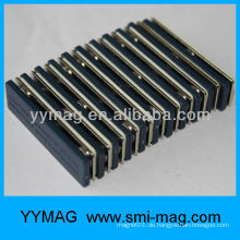 Billiger Kunststoff mit Magnet magnetischen Namensschild / Stahlband