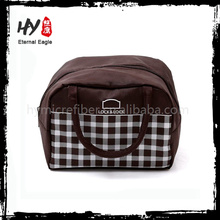 Easy to carry refrigerated cooler bags, insulated lunch box cooler bag, compound non woven cooler bag