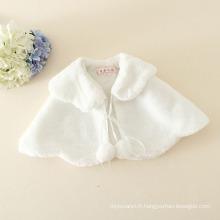 enveloppement d'hiver pour bébé filles / enfants envelopper pour la robe de soirée