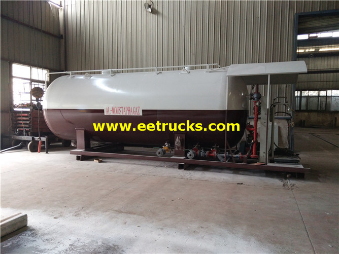 20cbm Skid Mounted Cooking Gas Plants