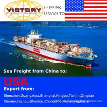 FCL y LCL envío/transporte de contenedores de China a Estados Unidos-envío