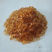 Rampes en verre ambré, verre crevassé / sable de quartz