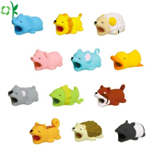 Hot Sale Animal Data Cable Protector Silicone