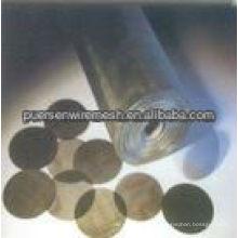 Mildes Stahldrahtgeflecht, schwarzes Eisendrahtgewebe