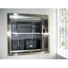250kg Hotel dumbwaiter elevator with machine roomless
