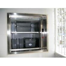 250kg Hotel dumbwaiter elevator with machine roomless