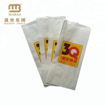 Greaseproof Custom Fast Food Packaging Fried Chicken Paper Bag For Fried Food