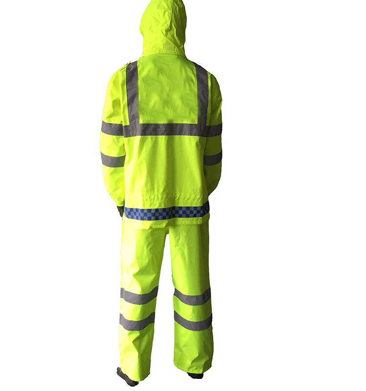 roadway safety jacket