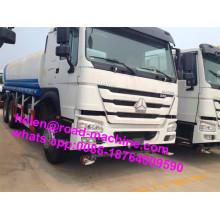 Tanque de camión de agua HOWO 25000liters