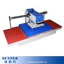 Hitze Presse Maschine pneumatische doppelte Station T-Shirt Druckmaschine