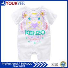Wholesale OEM Customized Cute Baby Clothes with Floral Prints (YBY112)