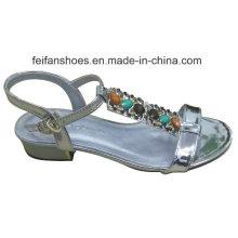 2016 Nouveau Style De Mode Haute Qualité Diamant Lady Wedge Heel Sandales