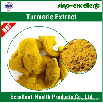 Natürliches Kurkuma-Extakt-Pulver-Curcumin