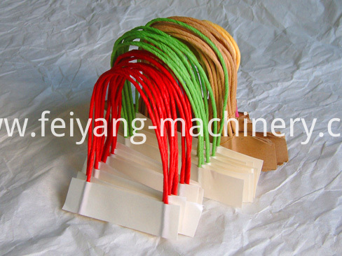Twisted Paper Rope Handle Making Machine