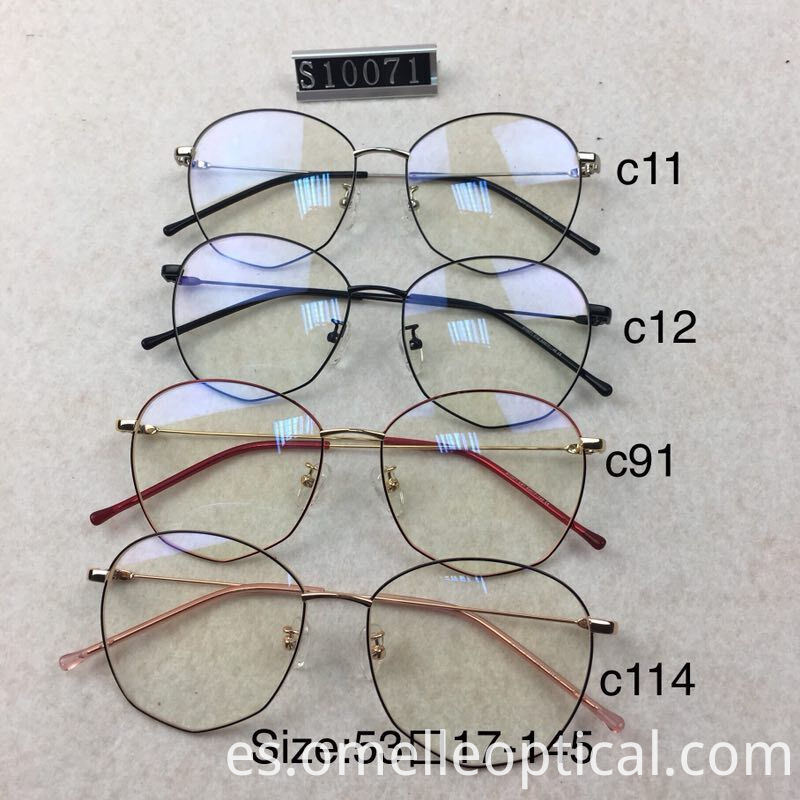 Oval Glasses Frame