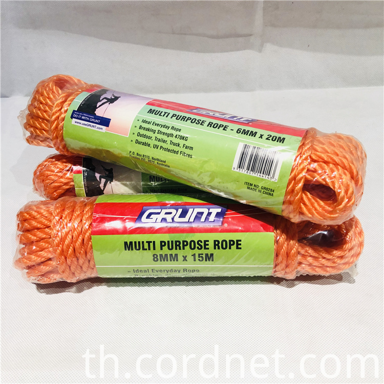 Orange Pp Rope 5