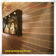 Approbation ISO de maille de rideau en maillon de chaîne d'approvisionnement d'usine