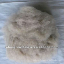 Brown dehaired cashmere fibre