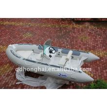 Barco inflável do iate crusing costela-430 CE da fibra de vidro