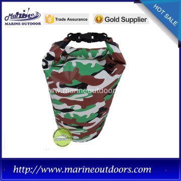 2016 newest camouflage waterproof dry bag with professional buckles and strong quality straps