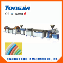 Línea de producción plástica de la manguera de la fibra del PVC de la máquina