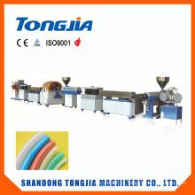 Linha de produção da mangueira da fibra do PVC da máquina plástica
