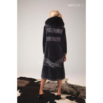 Ladies Australia Merino Shearling Fur Coat