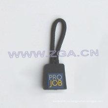 Extractor del pvc de la manera con la insignia del cliente