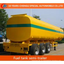 Semi-reboque do tanque de combustível de 45cbm 3axles