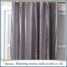 Chine Fabricant couleur grise Vente en gros rideaux de velours noir