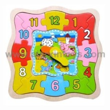 Wooden Clocks Toy (81330)