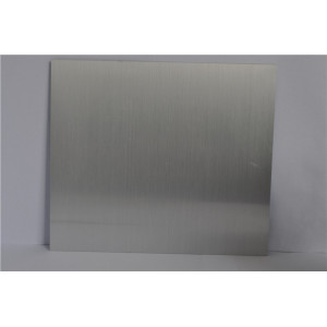 Aluminium brushed finish sheet metal for decorative
