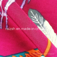Composite Yarn Phoenix Peacock Plume Pritnings Koshibo Robe Tissu