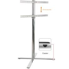 Soporte en forma de X LED / LCD / TV de plasma con soporte para DVD (PSF417-1300)