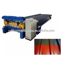 Machine de fabrication de rouleaux de feuilles de toiture IBR d'Afrique du Sud