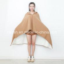Manta de lana antiestática Manta de sueño Manta de rodilla caliente