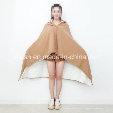 Cobertor anti-estático do joelho do cobertor de velo Napping quente
