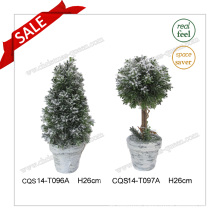 H26cm Wedding Decoration Flower Artificial Plastic Pot Flower Plant