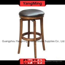 Chaise en cuir de haute qualité européenne (YM-DK08)
