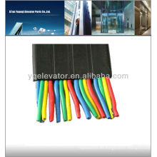 Cable de elevador de grúa plana, cable de elevador