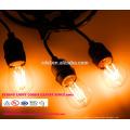 Всепогодный Открытый струнные светильники - Перечисленный UL - 15 висячие гнезда - идеальный Патио огни - черный - 16 11S14 ул