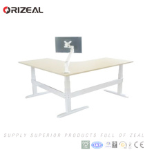 Leg smart sit to stand desk electric standing office table ergonomic height adjustable desk sit stand desk frame on sale