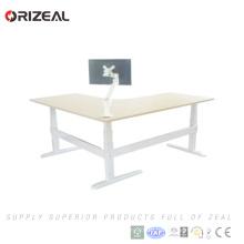 Нога умные сидеть стоять стол электрический стоящий стол офисный эргономичный стол с регулируемой высотой, сидеть стоять стол рамки на продажу
