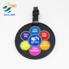 Hot Sale Custom Personalized Plastic Soft PVC Luggage Tag