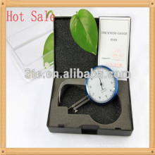 Optical eyeglass lens thickness measurment tools